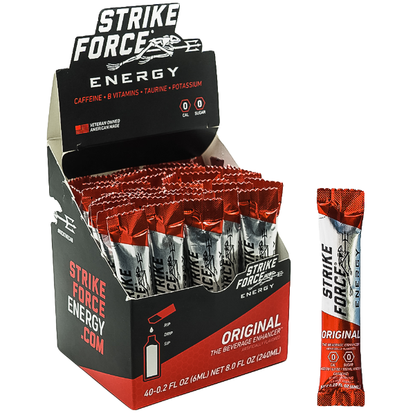 Strike Force, 40 Count Box - Original Flavor