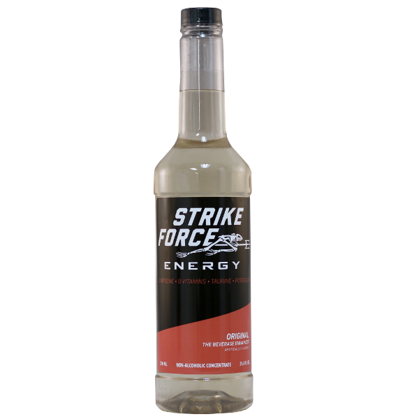 Strike Force Energy 750ml EZ-Pump Bottle