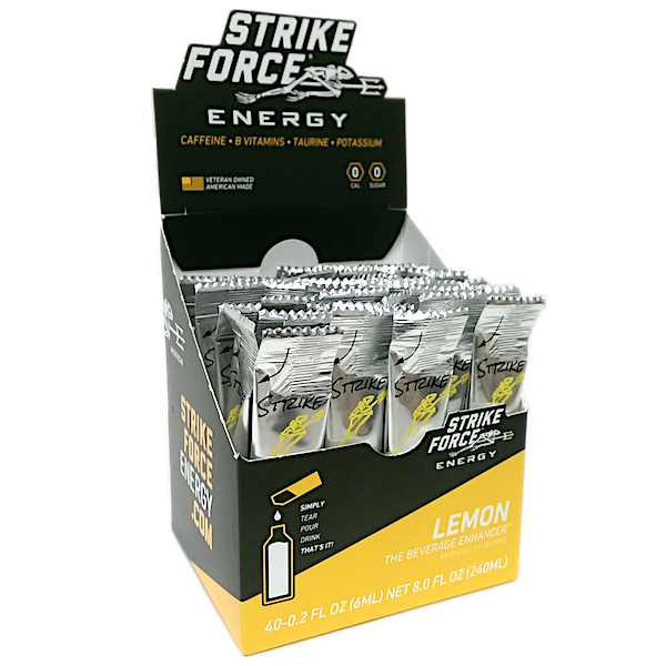 Strike Force, 40 Count Box - Lemon Flavor
