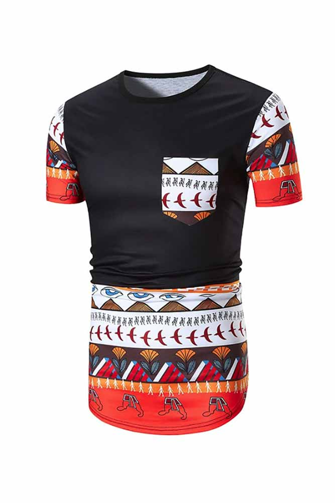 3d Printed Africa Dashiki T-shirt