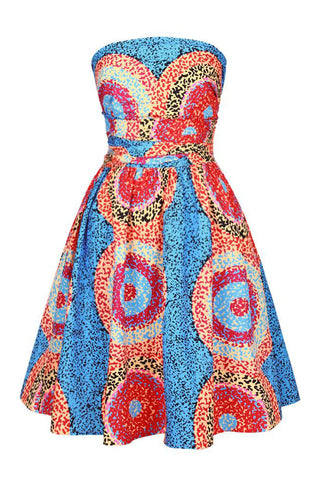 Dashikimall African Digital Printing Dresses