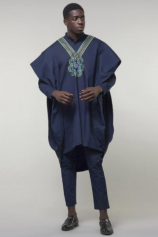 Men'sSets—Dashiki African men's Blue Classy African Wear
