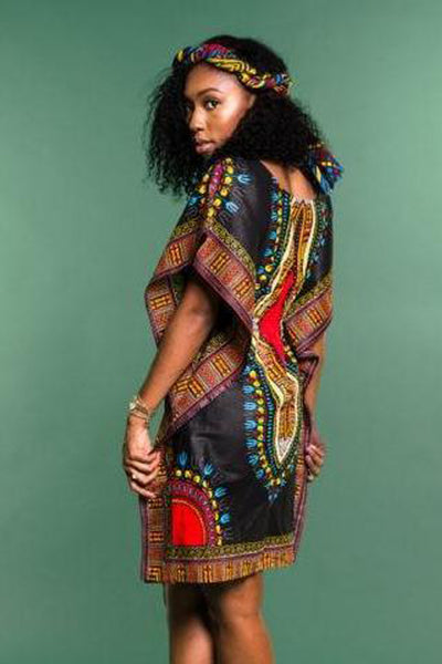Dashikimall African Women Dashiki Dress