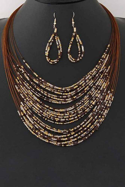 Dashikimall New Fashion African Beads Jewelry Sets