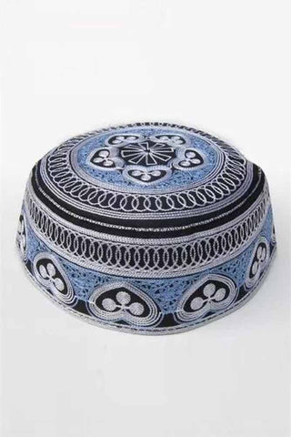 Ethnic Embroidery Muslim Hats