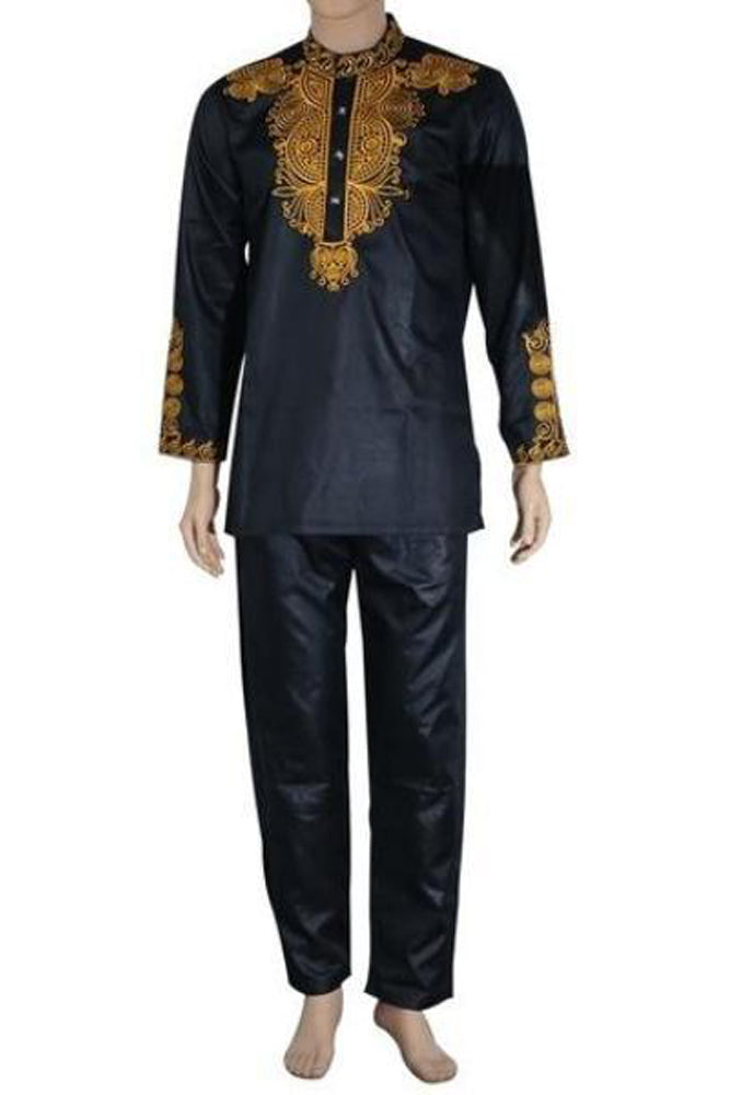 Sets - African Dashiki  Top Pant  2 Pieces Outfit Set