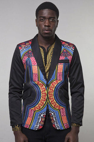 Dashikimall Traditional Cultural Wear African Suit Jacket