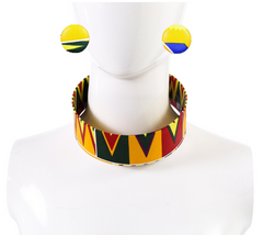 African collar women patch collar