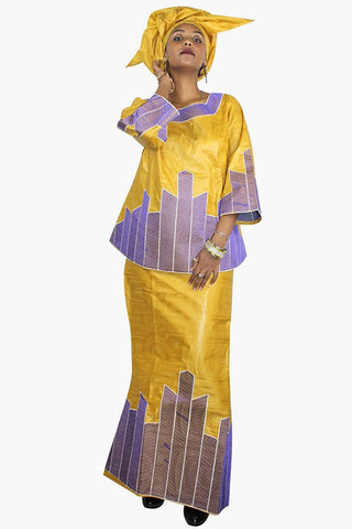 Dashikimall African Fashion Dress  Cotton