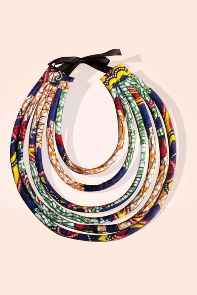 Dshikimall Women African Style Body Jewelry Necklace