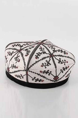 Embroidery Flowers Ethnic Hats
