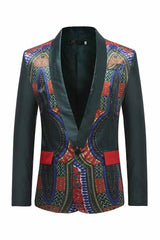 Men's African Wax Print Blazers Handsome jacket