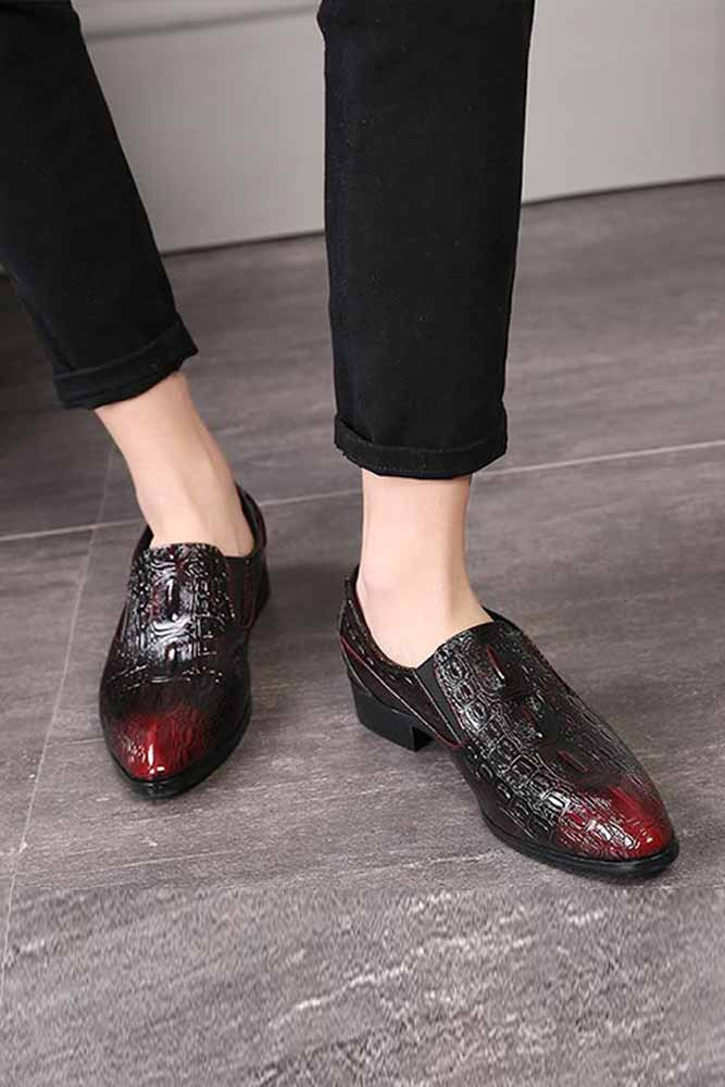 Men Loafers Elegant Shoes