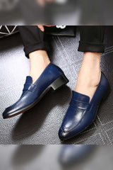 Dashiklimall Men Leather Shoes Handmade