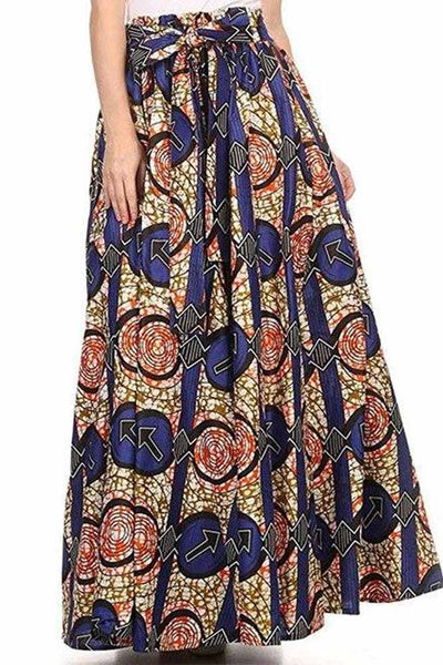 Dashikimall Women's Maxi Long Skirt