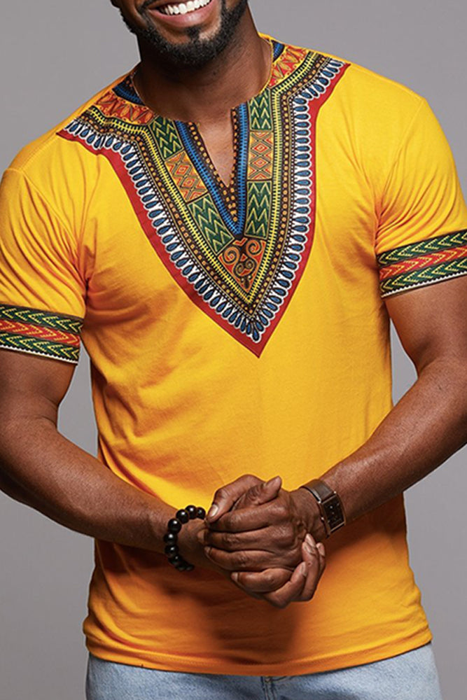 Dashikimall African Traditional Shirt