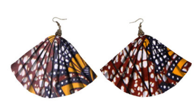 African ethnic style earrings