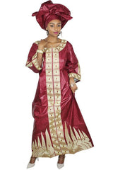 Dashikimall Traditional African Print Dress