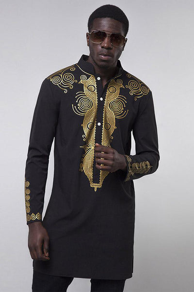 Dashikimall Traditional Man Shirt