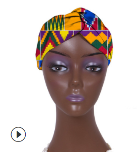 Fashionable African Women Ankara Hairband