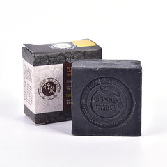 Natural Organic Herbal Essential Black Bamboo Oil Soap