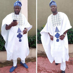 agbada men african clothes long sleeve