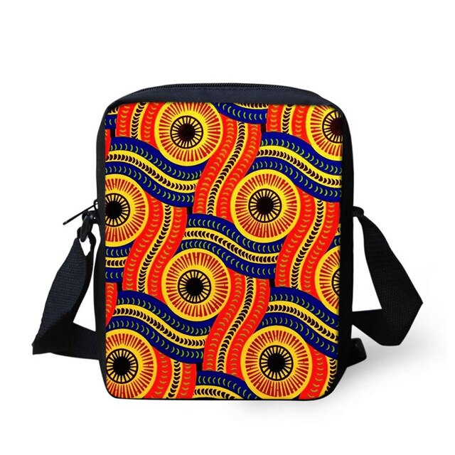 African Messenger Crossbody Bag Princess Girl Handbags