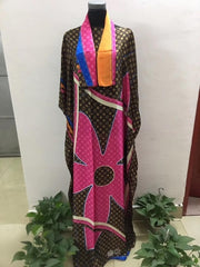 2020 New Fashion dresses Bazin Print Dashiki Women Long Dress
