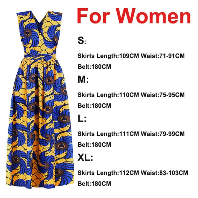 22Color Fashion Ladies Girl African Clothes