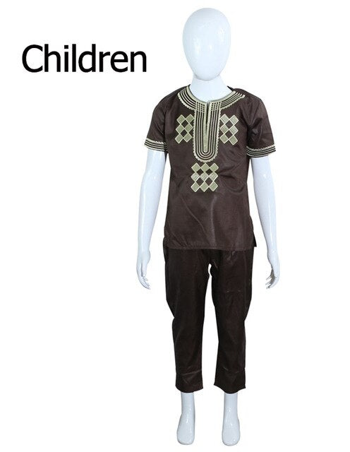 T shirt 2 Pieces Set For Men Kids Boys