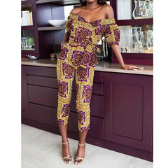Fashion Ladies 2020New Year African Clothes