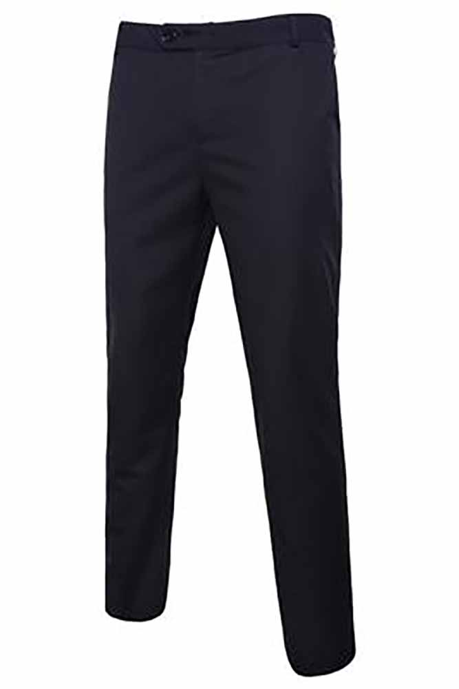 Dashikimall Men's Formal Suit Trousers Pants