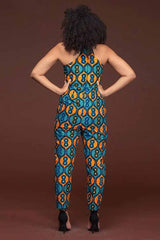 Dashikimall Plus Size African Women Jumpsuit