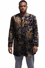 African Shirt Men Patterns Print