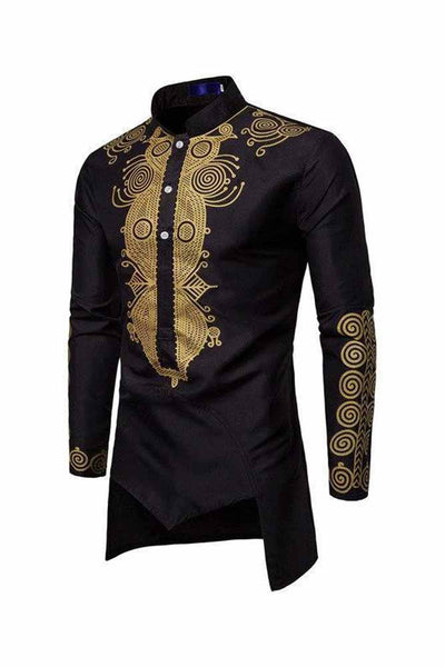 Dashikimall African Dashiki Casual Shirts