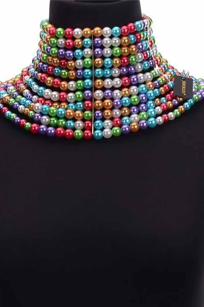 Women  Handmade Pear CCB Chokers