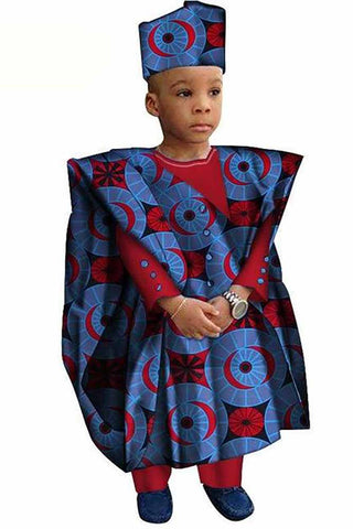 African Dashiki Children 3 Pieces Sets