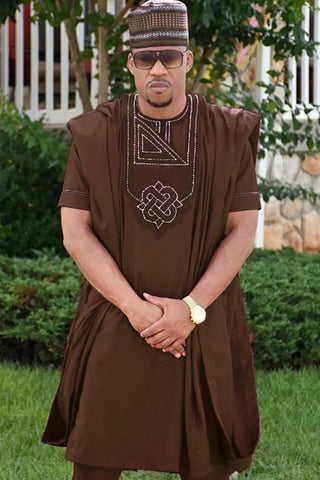 Sets  - Africa Dashiki 3 Pieces Set