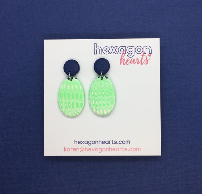 Peppermint ovals