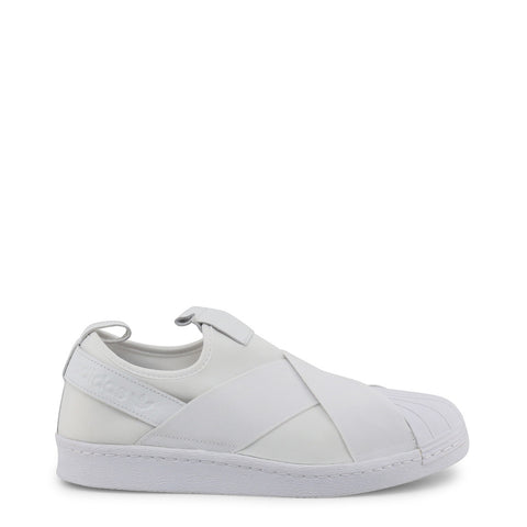 baskets unisexe Adidas Superstar Slipon blanc