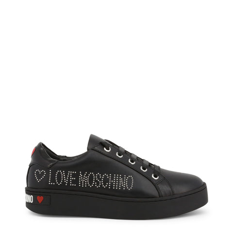 baskets femmes Love Moschino JA15163G18IF noir