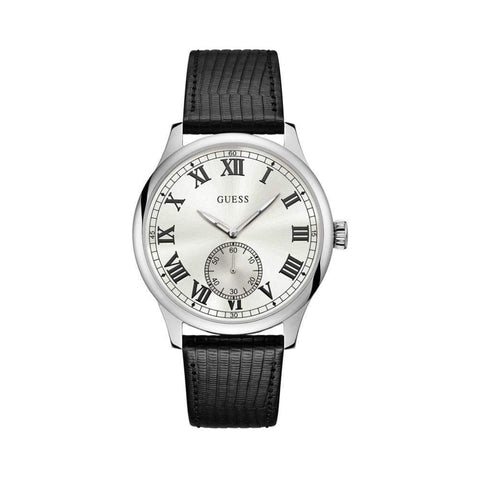 montre homme Guess W1075 br cuir - NATALYS OUTLET STORE