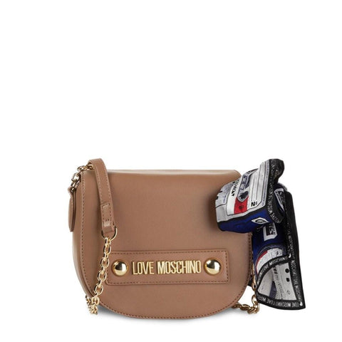 sac bandoulière Love Moschino JC4221PP08KD brun - NATALYS OUTLET STORE