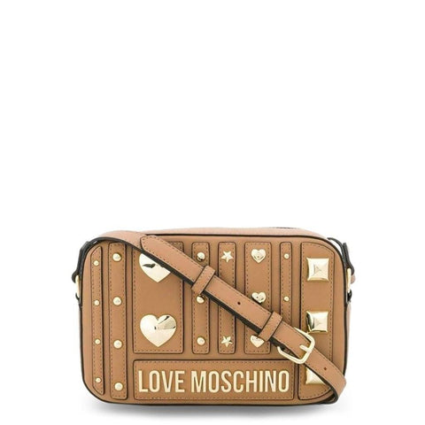 sac bandoulière Love Moschino JC4240PP08KF brun - NATALYS OUTLET STORE
