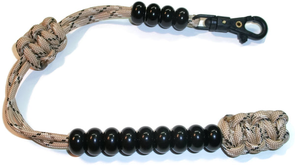 "Redvex Ranger Style Cobra Pace Counter Beads Paracord/Survival 13"" Desert Camo"