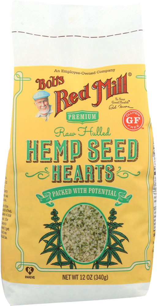 BOB'S RED MILL: Hulled Hemp Seed Hearts, 12 oz