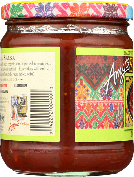 AMY'S: Salsa Medium, 14.7 oz