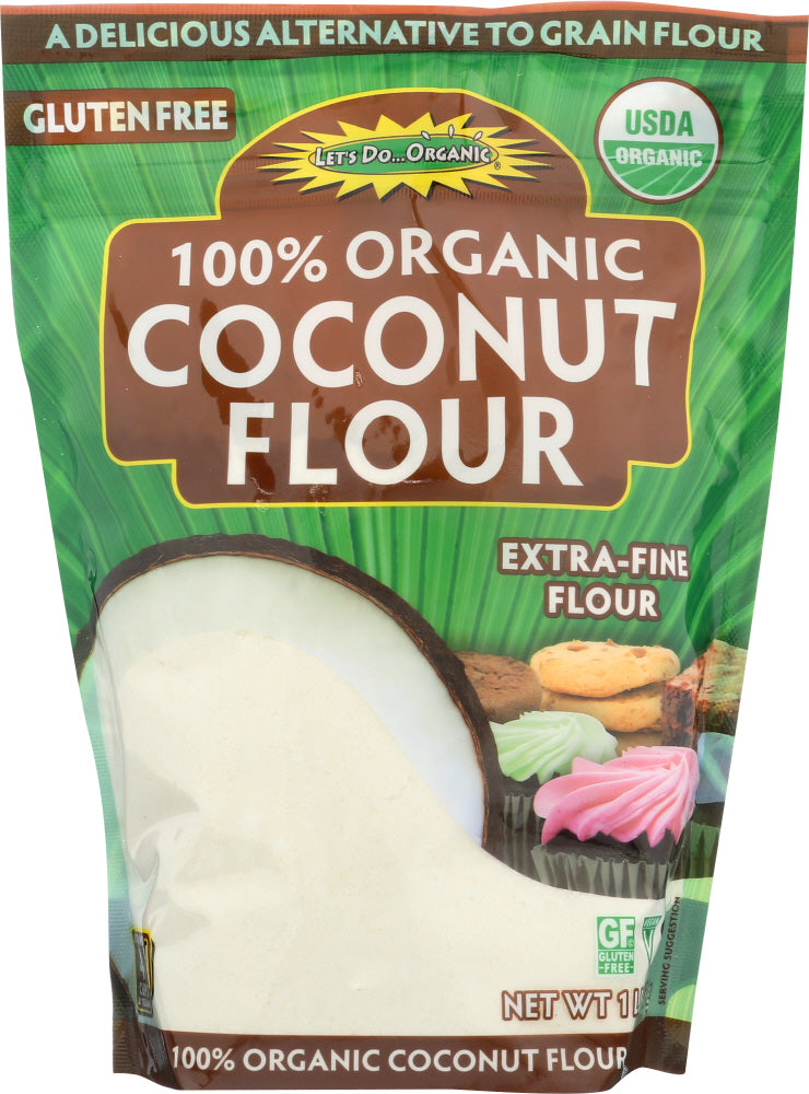 LET'S DO: Organic Coconut Flour, 16 oz