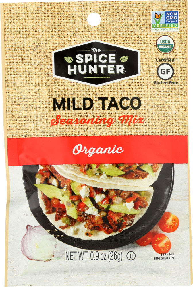 THE SPICE HUNTER: Mild Taco Seasoning Mix, 0.9 oz