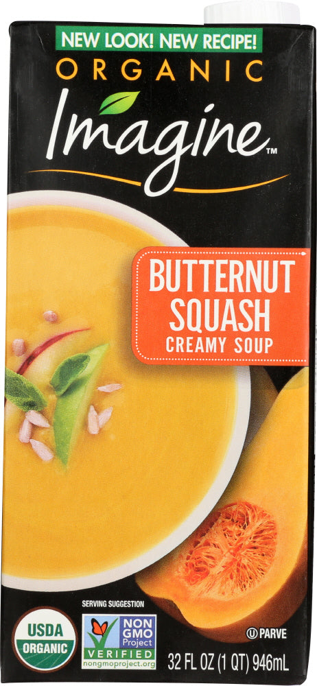 IMAGINE: Organic Soup Creamy Butternut Squash, 32 oz